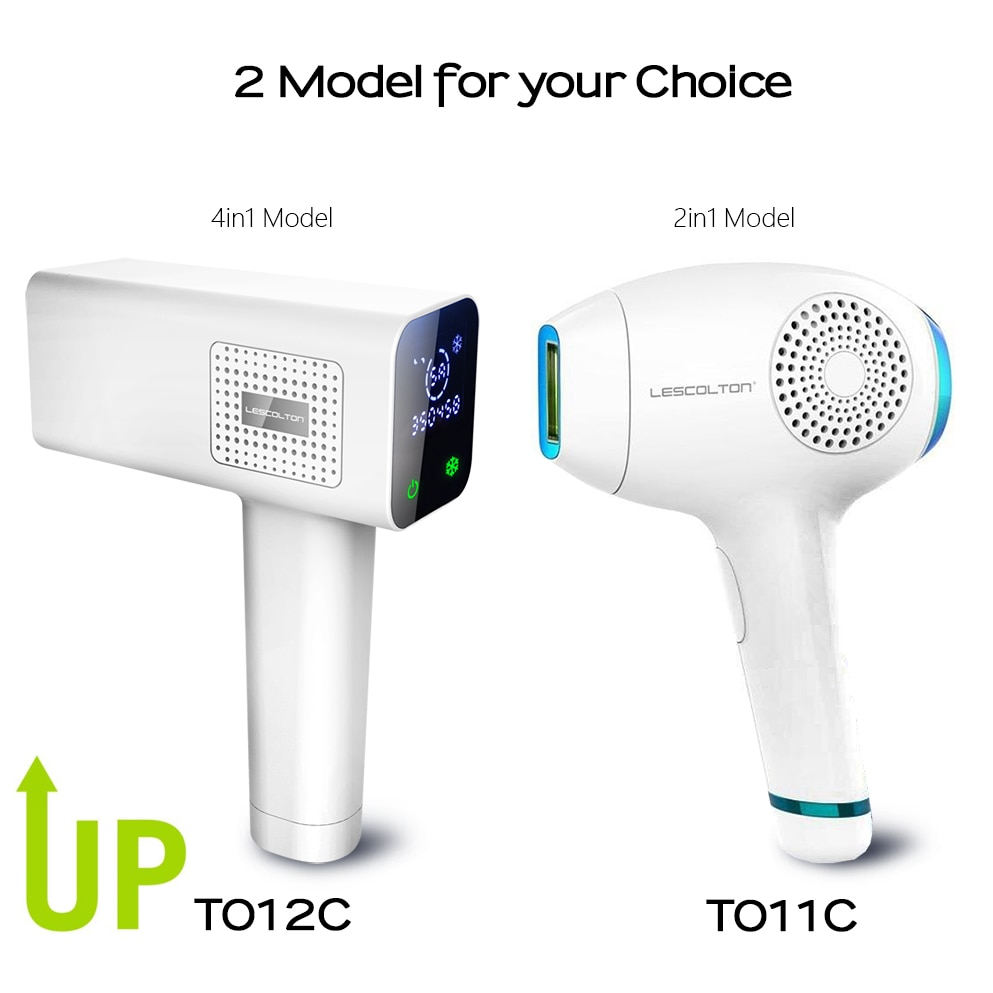Lescolton T012C 4in1 ICECOOL Painless IPL Epilator Device Permanent Hair Removal IPL Laser Epilator Hair Removal Machine enlarge