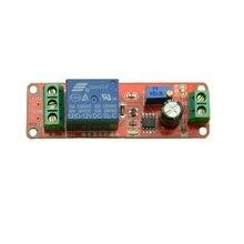 Glyduino 12 V Module relais temporisateur NE555 Mono-stable temporisation interrupteur réglable 0-10 S retard voiture oscillateur