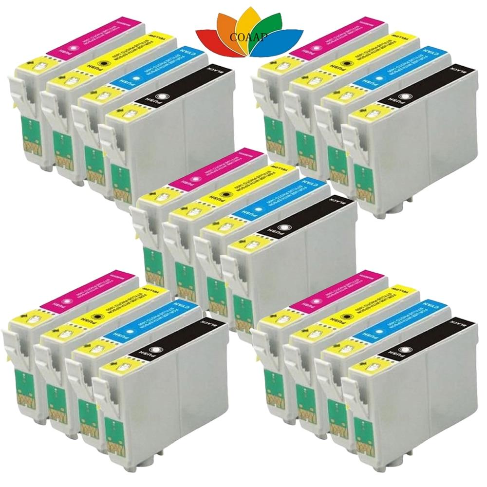 Paquete de 20 EPSON COMPATIBLE con T1816 cartucho de tinta Envase múltiple colores Epson XP-212 XP-215 XP-312 XP-412 XP-415 XP-202 XP-102 XP-302 18XL