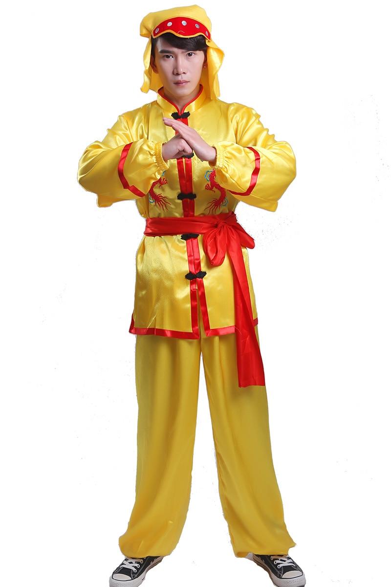 Костюмы для боевых искусств, китайская классика, вышитые границы дракона, народный стиль, групповые занятия, танец дракона, Лев, дракон, танц...