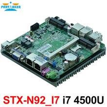 Carte mère Nano double Nics sans ventilateur avec processeur Intel haswell-u i7 4500U