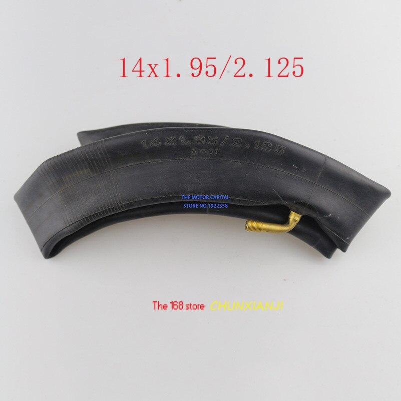 Хорошее качество Ninebot One S2 A1 14x1. 95/2. 125 14x1,95 14x2,125 внутренняя шина для электрического скутера аксессуары для одноколесного велосипеда