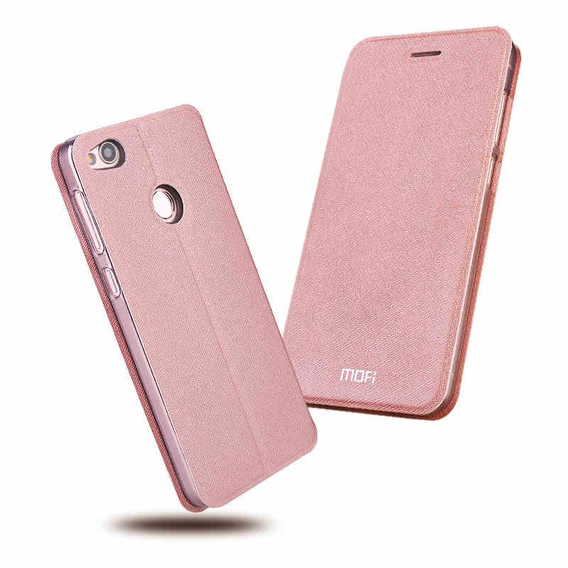 Тонкий флип-чехол Mofi для Huawei Honor 8 Lite/для Huawei Honor 8, искусственная кожа + ТПУ, силиконовый чехол для Huawei Honor 8, чехол для телефона