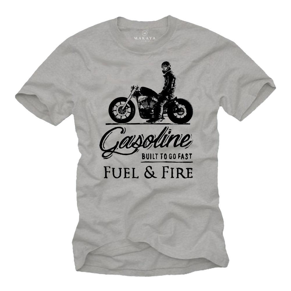 Gran oferta 2019, camiseta de moda para motorista, camiseta Herren MC Bobber Chopper Rocker Geschenke, camiseta de motorista