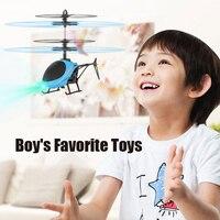 Индукционный вертолет, Радиоуправляемый мини-Дрон, игрушка для игр на открытом воздухе для мальчиков, подвесной летающий самолет, подарок д...