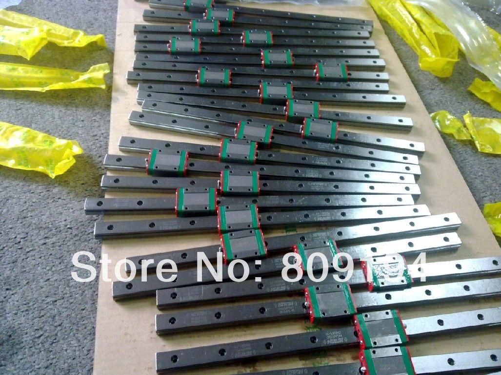 Riel de guía lineal HIWIN MGR15 de Taiwán de 200mm