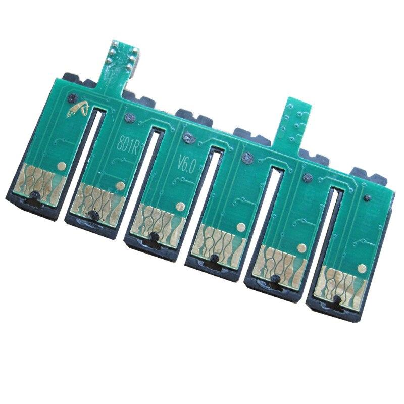 Перманентный чип T0821N СНС для EPSON Stylus Photo T50 R290 R390 RX590 RX610R X690 TX650 TX700W TX710W TX800FW TX810FW принтер