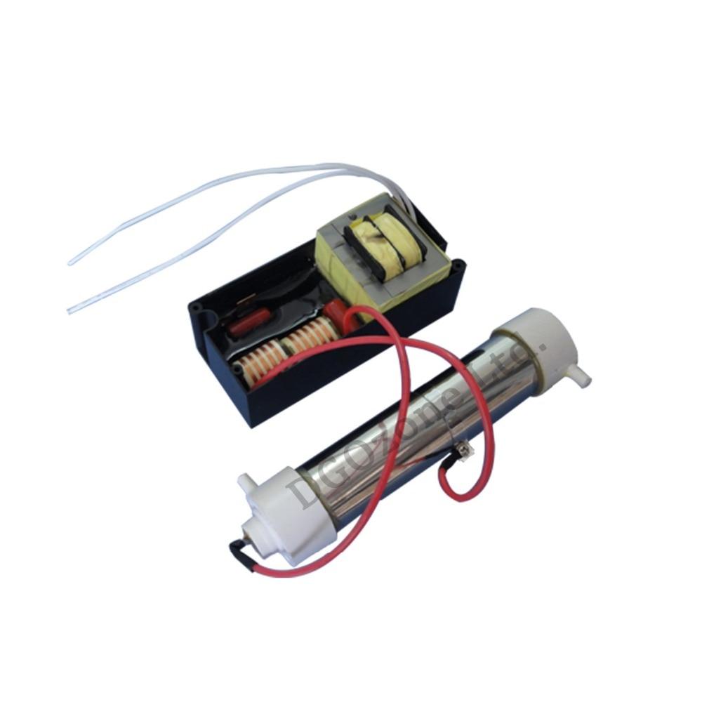 2 gr/std quarz rohr ozon generator luft prifying haushalt mini ozônio hersteller DGOzone