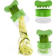 Carrot Cucumber Grater Spiral Blade Vegetable Fruit Spiral Slicer Salad Tools Zucchini Noodle Spaghetti Maker Dropship