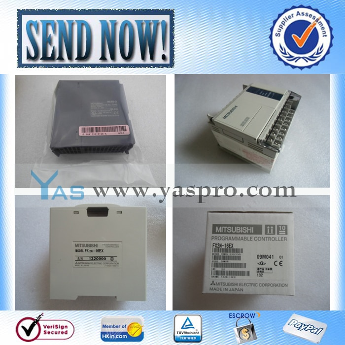 Controlador lógico programable plc original FX3UC-32MT/DSS FX3U-64MR/DS
