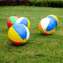 아기 어린이 풍선 비치 볼 어린이 고무 풀 놀이 공 장난감 소프트 수영 스플래시 놀이 게임 23cm