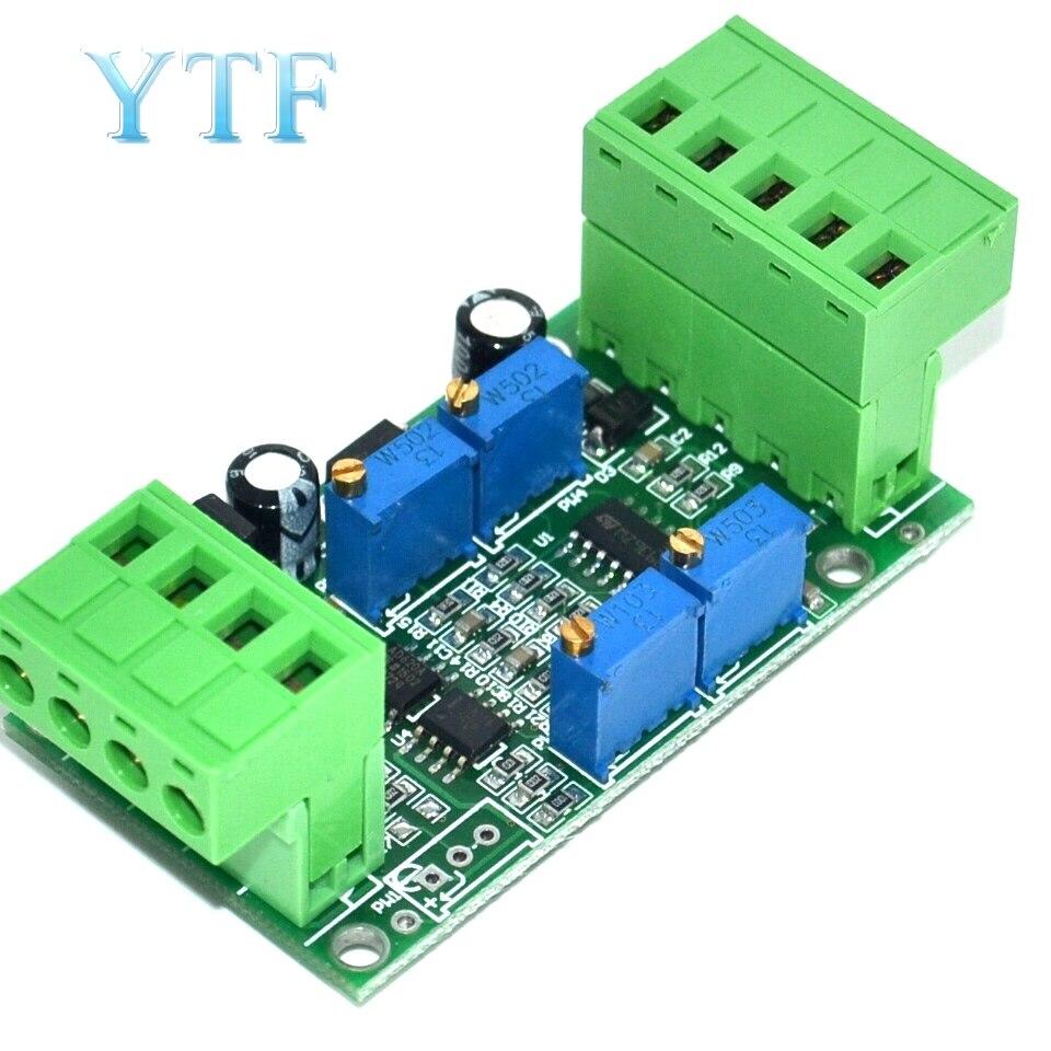 Módulo amplificador transmisor Sensor de pesaje 4-20 mA 0-5V transmisor de corriente y voltaje
