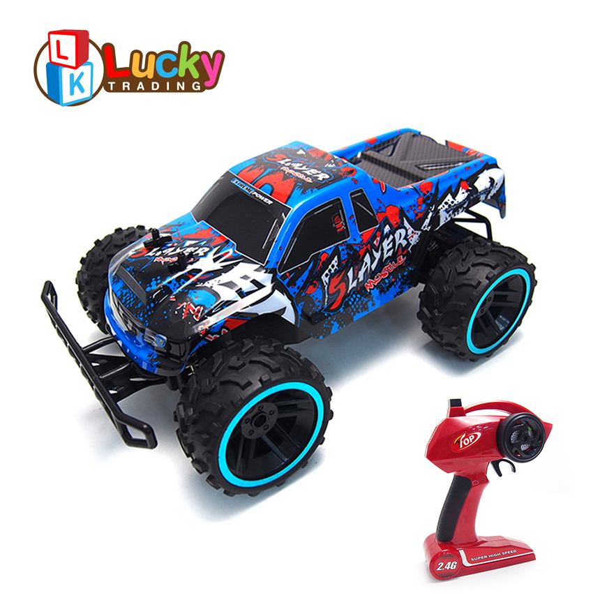 Cool Unique Graffiti Professional High Speed Remote Control Car Truck Toy Radio Control Racing Climbing Monster Car 1:12 Wltoys