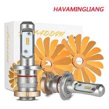 Ampoule led pour voiture ZES 100W 12000LM   H4, H1 H7 H8 H9 H11 9005 HB3 9006 HB4 12V 6000K, lampe de travail pour Automobiles