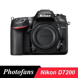 Корпус цифровой зеркальной камеры Nikon D7200 DX-формат, 24,2 мегапикселя, DX-формат CMOS, Wi-Fi, 51 точечный AF, (абсолютно новый)