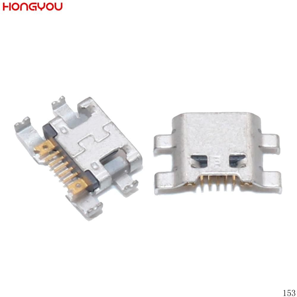 100PCS/Lot Micro Usb Charging Connector For LG G2 Mini D618 D620 F240 F240S PCB Mini USB Charge Socket Jack Dock Plug Port