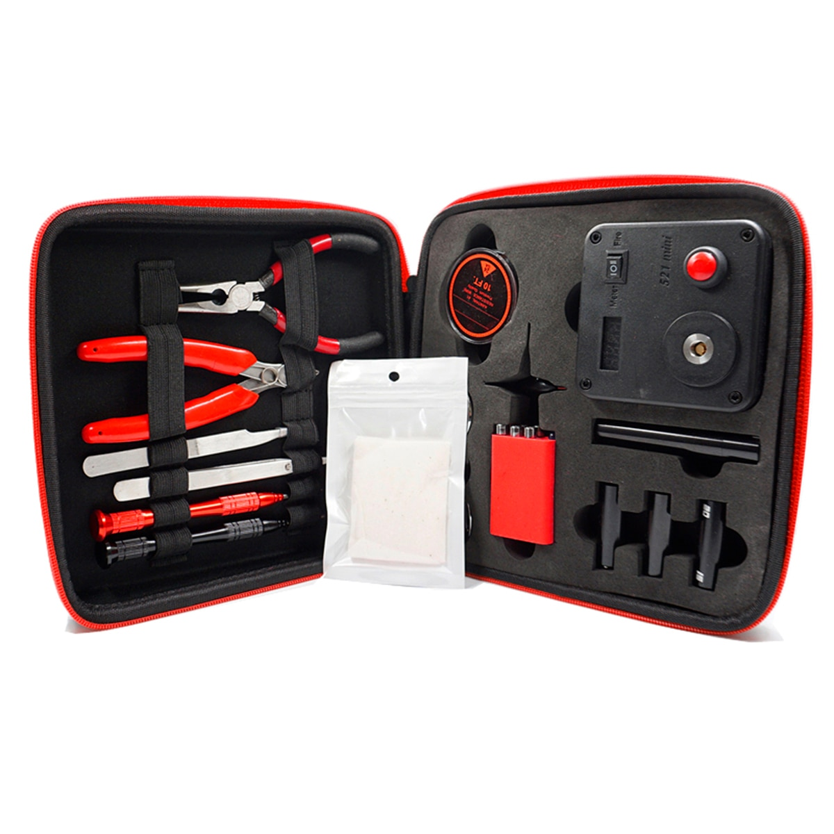 Update Coil Master V3 DIY Kit All-in-One CoilMaster V3+ Electronic Cigarette RDAtomizer coil tool bag Accessories Vape vaper