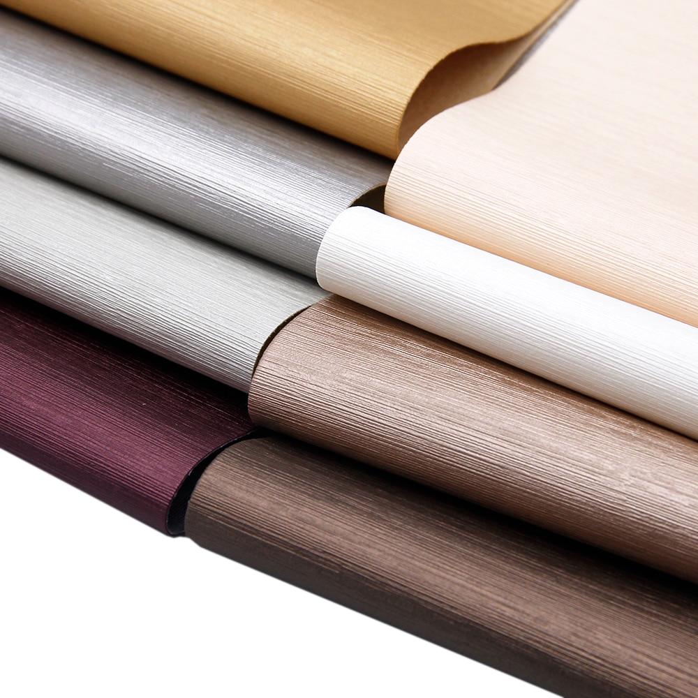 David accessories 20*34cm Bump Texture Fine Stripes Faux Synthetic Leather Fabric DIY Bag Shoes Decoration Materials,1Yc7287