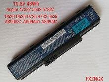 10.8V 48Wh Echt Nieuwe AS09A61 Batterij voor Acer D520 D525 D725 4732 5535 5732Z 5332 5335 5516 AS09A31 AS09A41 AS09A56