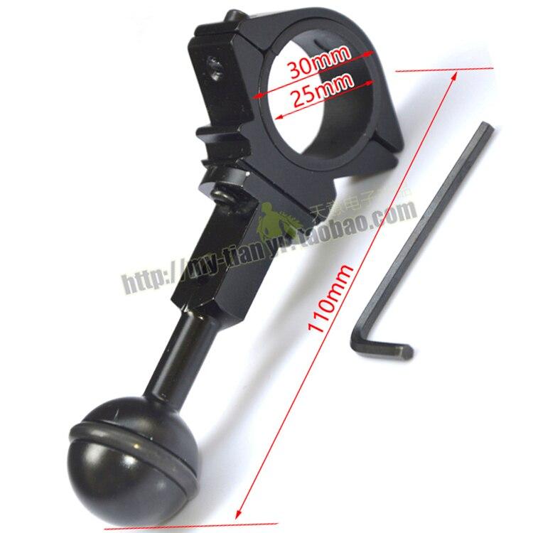 25 мм/30 мм универсальный шаровой шарнирный кронштейн для плавучести заполняющий свет держатель лампы для дайвинга фонарь для фотосъемки
