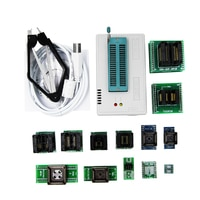 TL866II programmer +13 universal adapters PLCC Extractor TL866 AVR PIC Bios 51 MCU Flash EPROM Programmer
