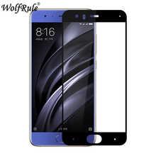 2 шт. Защитное стекло для экрана для Xiaomi Mi6 анти-Браст 2.5D Закаленное стекло для Xiaomi Mi6 полное покрытие стекло для Xiaomi Mi 6 Mi6