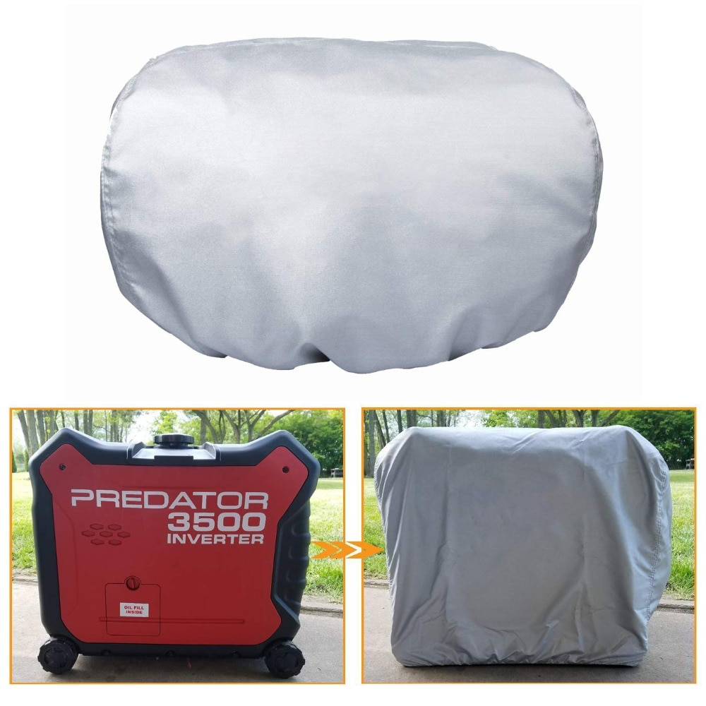 Cubierta de cuidado del generador de Chuang Qian-impermeable a prueba de polvo Sunproof para Honda EU3000is & Predator 3500