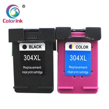 ColorInk 2PK para HP 304 304xl cartucho de tinta para HP304 para HP Deskjet serie 3720, 3721, 3723, 3724, 3730, 3732, 3752, 3755, 3758 impresora