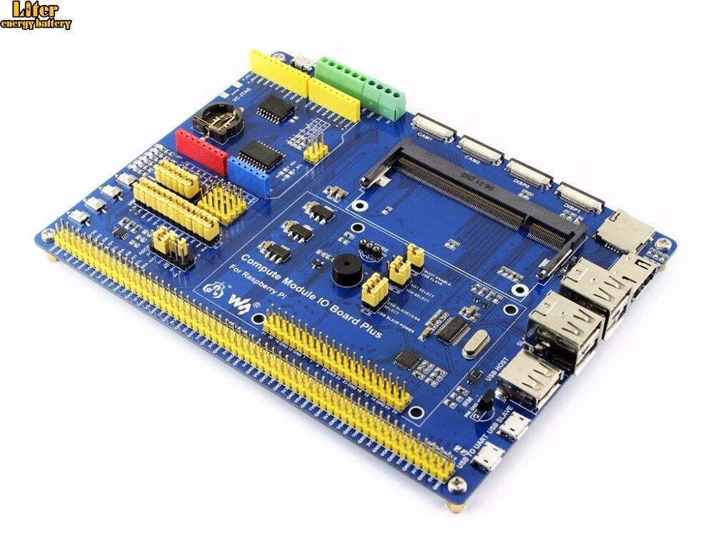 Плата ввода вывода для компьютерного модуля Waveshare композитная плата разработки с
