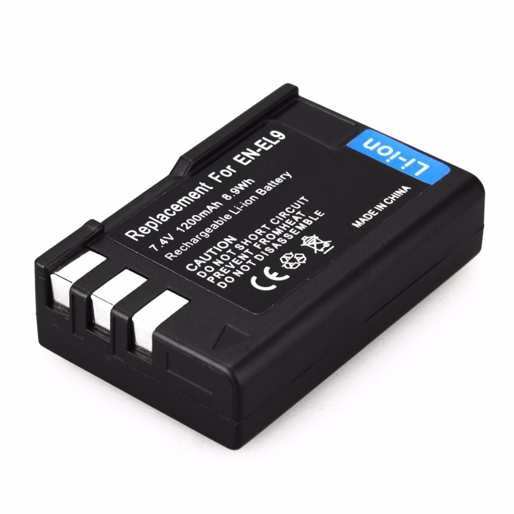 EN-EL9 EN EL9 EN-EL9A, 1 unidad de batería de ion de litio...