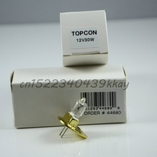 Topcon microscope à fente 12v30w sl-d7 sl-d8 44680-25700 lampe de remplacement