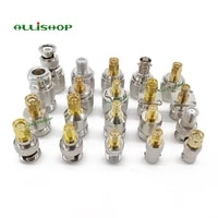 allishop 20 kit rp sma adapter connector sma to n sma to bnc sma to tnc rf coaxial connectors male female mf conector