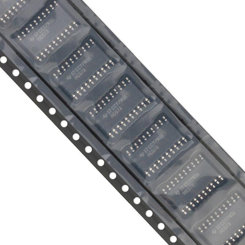 10 pçs/lote SMD SN74HC573NSR SOIC-20 74HC573 Logic IC 74 Series Novo e Original