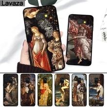 Lavaza Kunst Gemälde Die Geburt Der Venus Silikon Fall für Samsung A3 A5 2016 2017 A6 Plus A7 A8 A9 a10 A30 A40 A50 A70 J6 2018