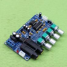 Placa de reverberación AC12V NE5532 + TP2399 Kara OK/placa amplificadora de micrófono/módulo amplificador de canción K (H5A5)