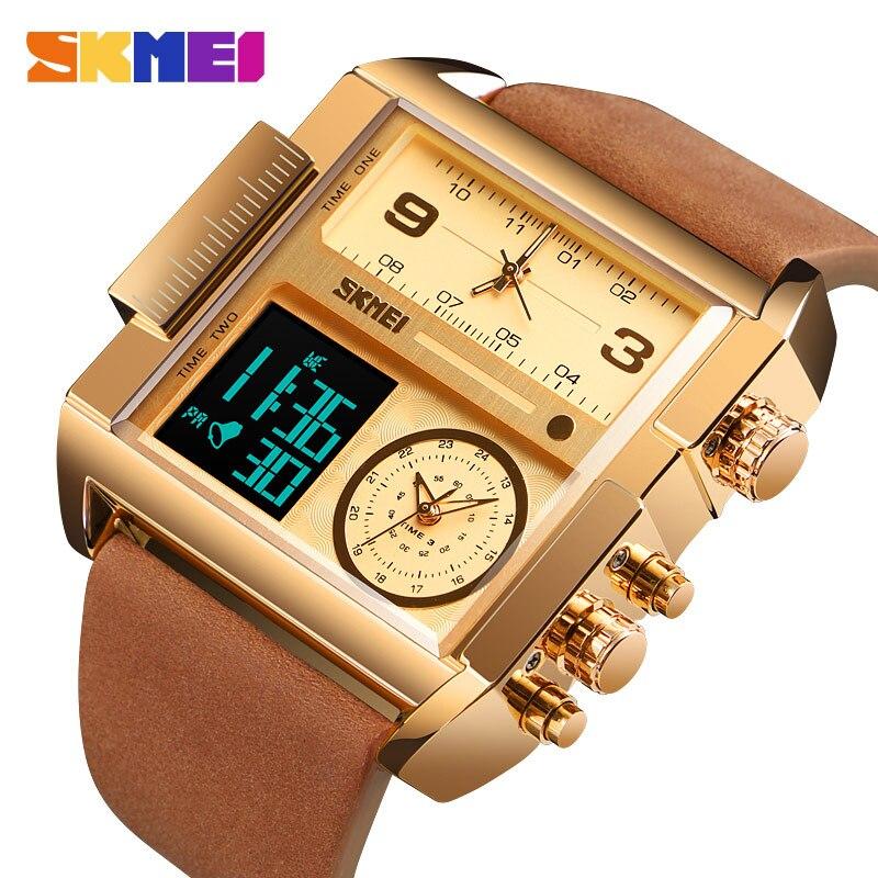 SKMEI Herren Uhren Top Luxus Military Kreative Uhr Männer Quarz Analog Digital herren Uhren Uhr Relogio Masculino 1391