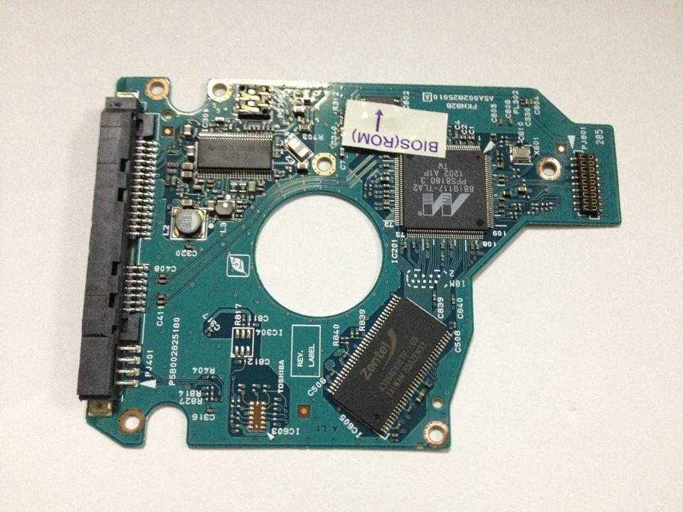 1 шт./лот MK5065GSX MK5075GSX FKN82B HDD PCB Логическая плата кодирование: G002825A