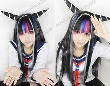 Perruque Cosplay Super Dangan Ronpa 2 Ibuki Mioda