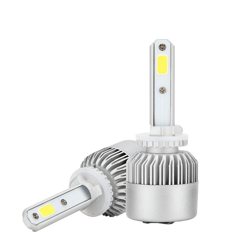 Adeeing 1 par 880/881 Auto S2A 6500K 72W 8000LM bombillas de faro delantero de coche estilo blanco bombillas LED 880/881 coche luz LED r30