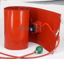 20L (4.4 Gallon) 110V 200X860X1.6 Mm 800W Band Drum Heater Olie Biodiesel Vat