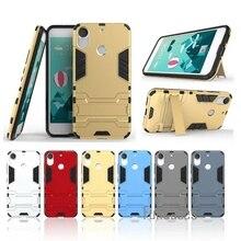 Pour HTC Desire 10 Pro housse en plastique silicone béquille 5.5 pouces Anti-retour armure téléphone sacs étuis pour HTC Desire 10 Pro