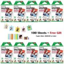 10-100sheets Fujifilm Instax Mini Wit Film Instant Foto Papier Voor Fuji Instax Mini 9 8 7 s 70 25 50 s 90 Camera SP-1 2 Printer