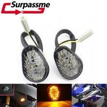 Lampe indicateur de clignotants de moto   Pour Yamaha YZF R1 2002 - 2004 YZF R6 2008-2003 2007, tampons de moto