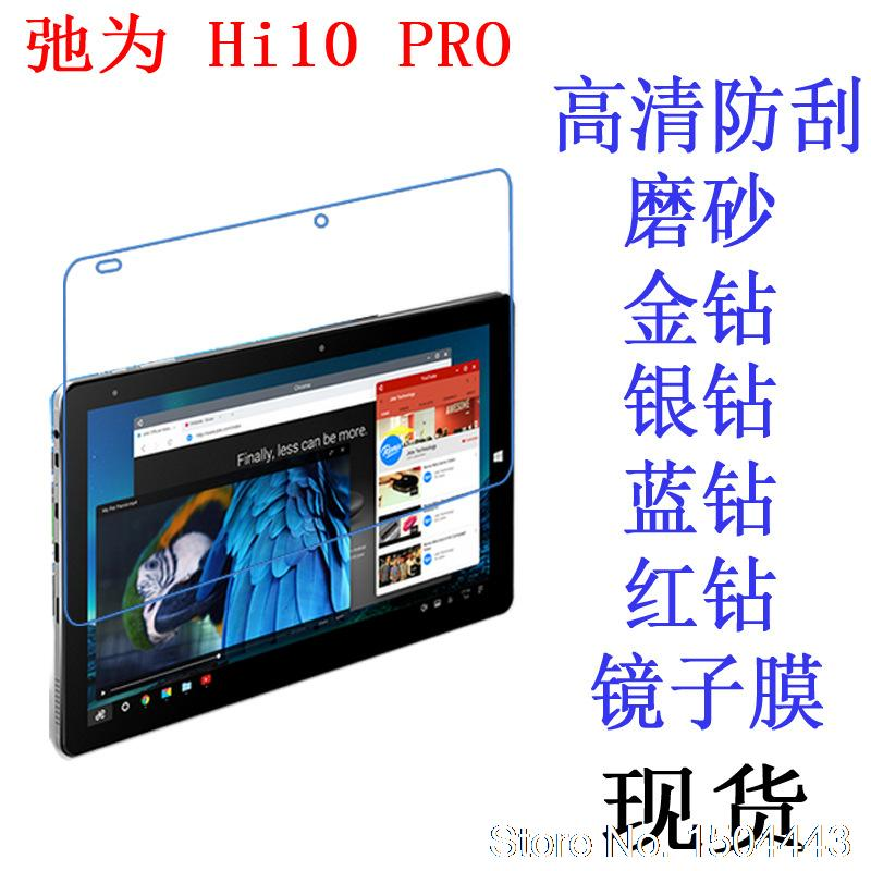 Para Chuwi Hi10 Pro 10,1 pulgadas Tablet Ultra claro HD LCD protector de pantalla suave película protectora de pantalla