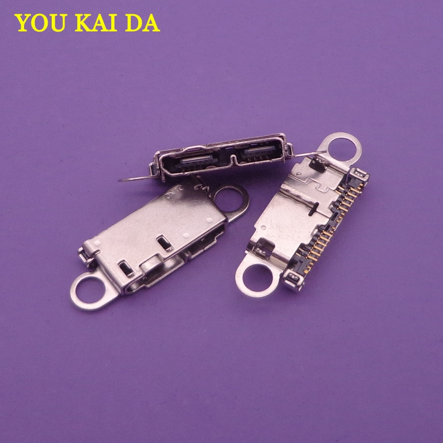 5 pcs Original micro USB de Carregamento de Carga Porto ficha jack Conector Para Samsung Note3 N900 N9002 N9005 N9006 N9008 N9009 21pin