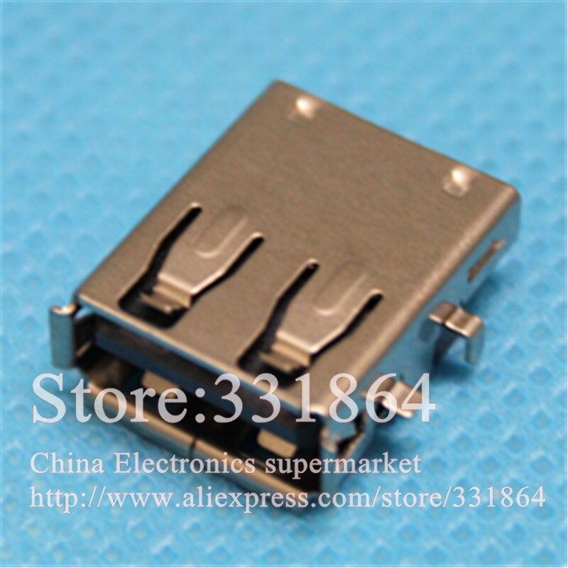 10 pçs/lote USB Jack Conector Para Samsung R719 R720 RC730 RV415 RV510 RV515 RV711 E3415 Série porta usb tomada fêmea 2.0 jack