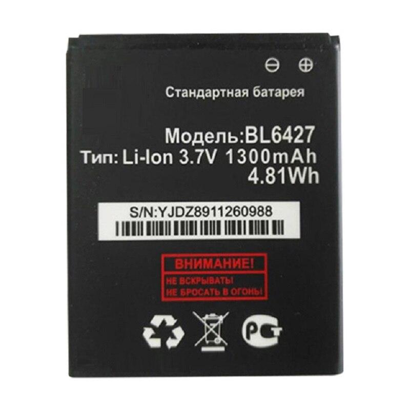 Alta calidad BL6427 1300mAh reemplazo de batería para Fly FS407 STRATUS 6 teléfono envío gratis