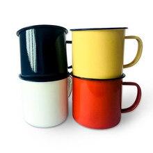 RUIDA tasse à thé en céramique émail   Tasse en plein air, Vintage petit déjeuner lait café tasse cadeau tasses gobelet HXH