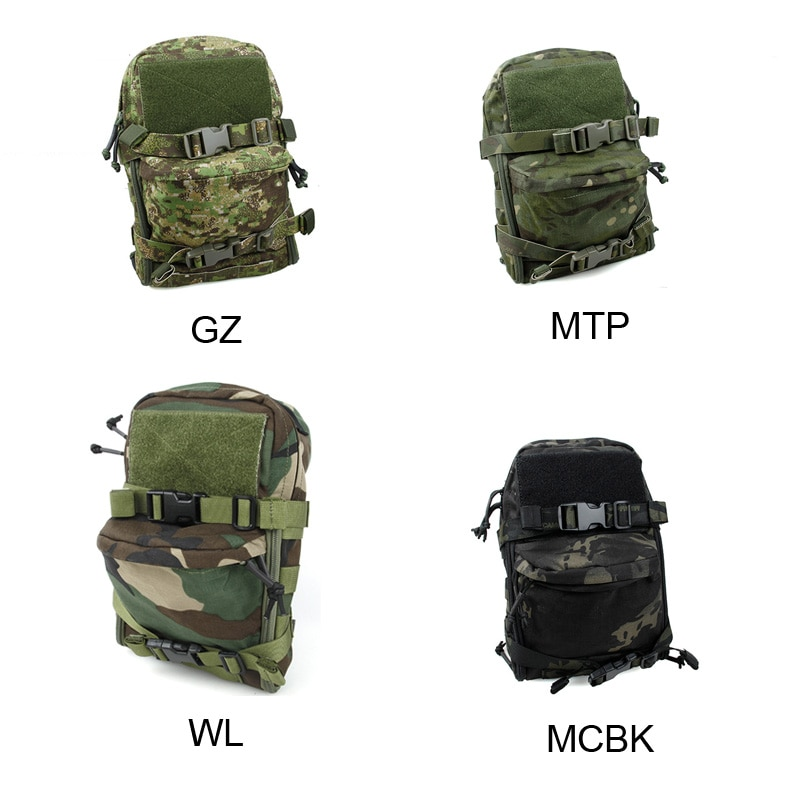 NEW Tactical Multicam Mini Saco de Hidratação Bolsa JPC Cordura MOLLE Bolsa de Água Colete 500D