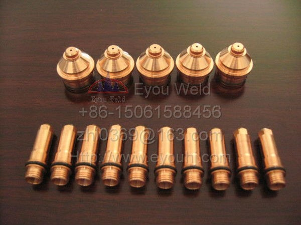40 pcs 220181 + 220182 - Consumables For 130A Plasma Cutting Torch(400XD/260/260XD/130/130XD/4070/3070 Machine)